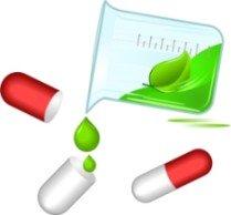 raw vitamins vector