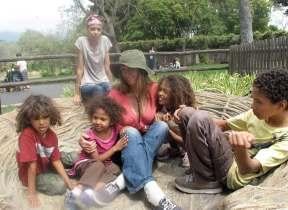 raw food communities Jinjee and her children
